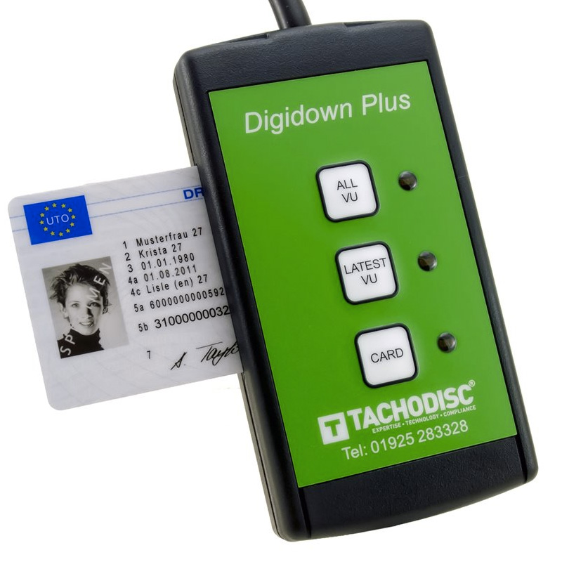 DIGIDOWNPLUS COMBINED VU & DRIVER CARD DOWNLOADER
