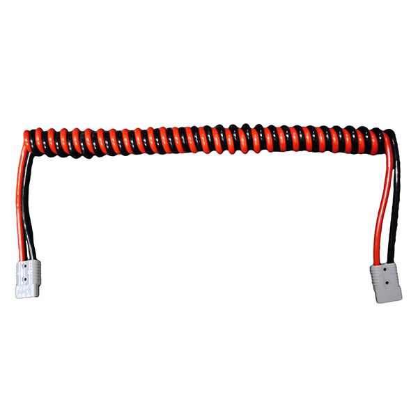 130AMP RETRACTABLE POWER CABLE WITH CONNECTORS
