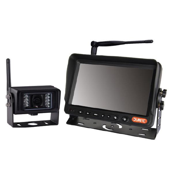Wireless Reversing Camera Kit - 7 Colour Infrared Monitor Sound 12/24V
