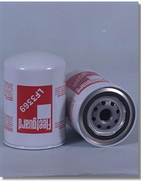 Image of Truck HEAVY DUTY HGV OIL FILTER - FLEETGUARD LF3369