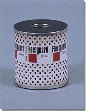 HEAVY DUTY HGV OIL FILTER - FLEETGUARD LF599
