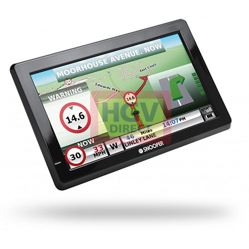 TRUCKMATE S8000 7INCH SAT NAV TRUCK HGV WITH EURO MAPS