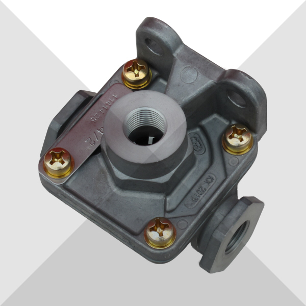 Knorr Bremse 2 Way Quick release valve Imperial