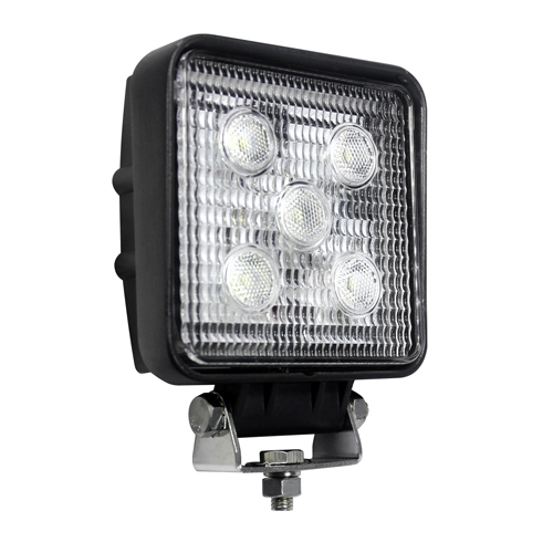 LED Work Lamp 12-24v Square Worklamp 11015bm