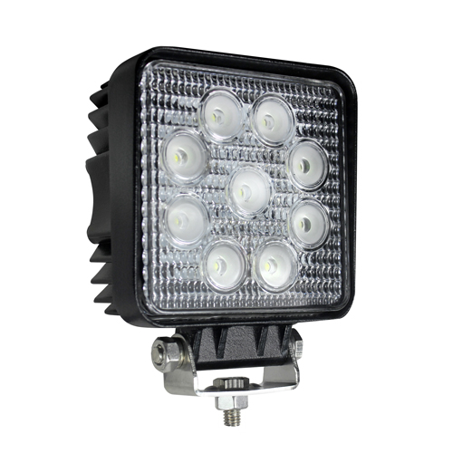 LED Work Lamp 12-24v Square Worklamp 2160 Lumens