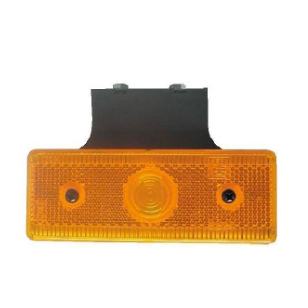LED SIDE AMBER MARKER LAMP 90 DEGREE WITH BRACKET & CABLE