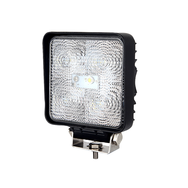SQUARE LED WORK LAMP 12-24 VOLT