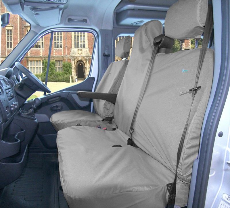 MASTER/MOVANO/NV400/INTERSTAR FRONT SEAT COVER SET- GREY