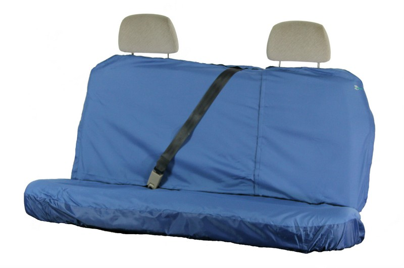 MULTI FIT REAR LARGE SEAT COVER (UP TO 147CM WIDE)- BLUE