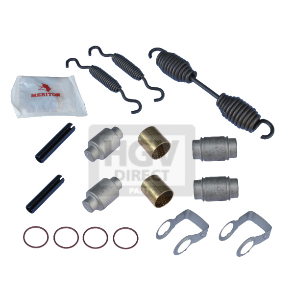 MERITOR-ROR TE AXLE BRAKE SHOE SPRING KIT