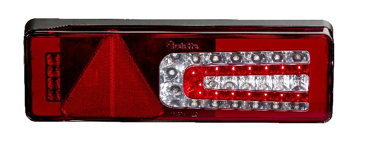 Multi-Function LED Rear Trailer Lamp WITHOUT Homogenous Light & Progressive DI, Left Hand