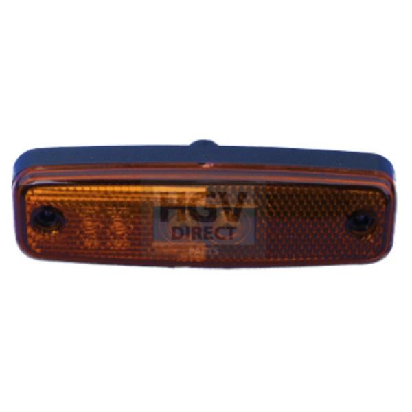 Rubbolite Amber Marker Lamp Model 890