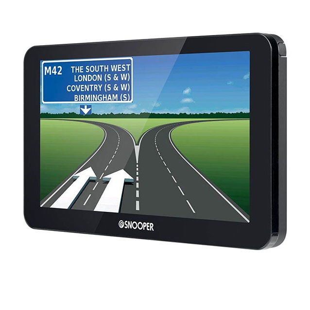 SNOOPER S8100 TRUCK SAT NAV WITH EXTENDED EU MAPPING
