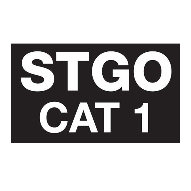 Abnormal Load Marker STGO Cat 1-2-3 Plate