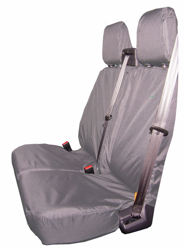 TRANSIT CUSTOM DOUBLE SEAT COVER- GREY