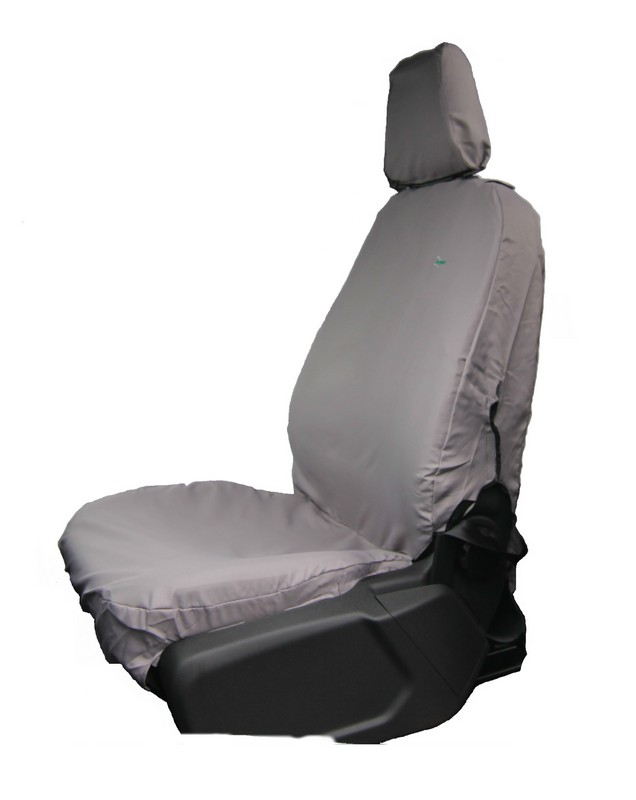 TRANSIT SINGLE FRONT SEAT COVER (2014 ONWARDS)- GREY