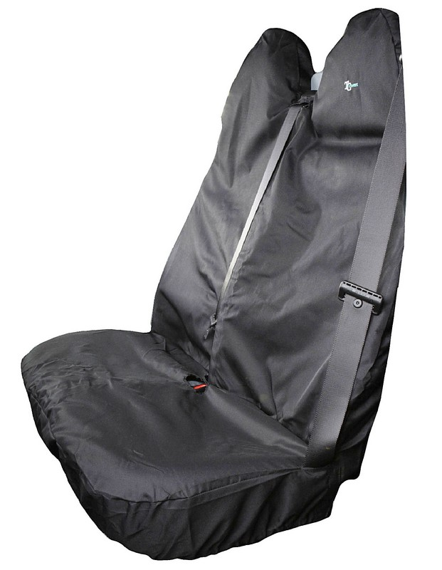 TRANSIT DOUBLE SEAT COVER- GREY