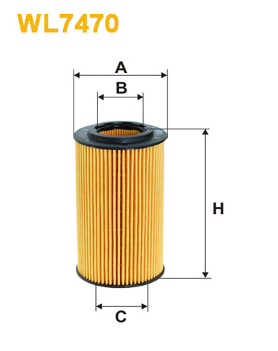 MERCEDES-BENZ SPRINTER II [2002-] OIL FILTER
