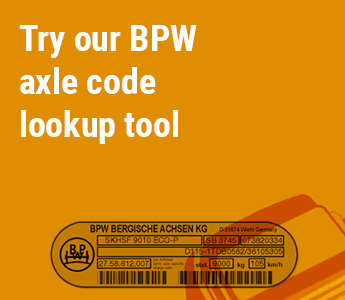 bpw axle code lookup