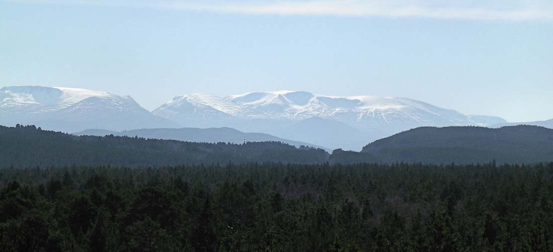 Cairngorm Mountains. © Lews Castle UHI / Flickr