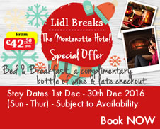 Montenotte Hotel Cork offer