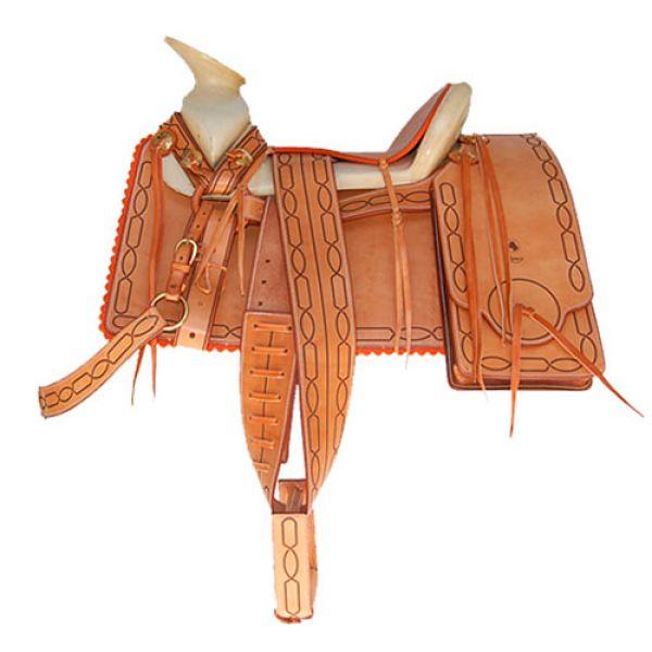 Buenisima silla charra mexicana equipada de hipisur - Silla montar caballo ...