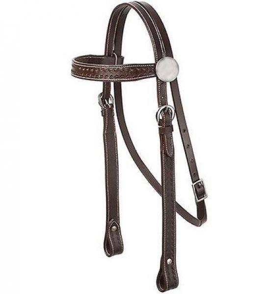 Cabezada tejana western suhis austin for Cabezadas para caballos
