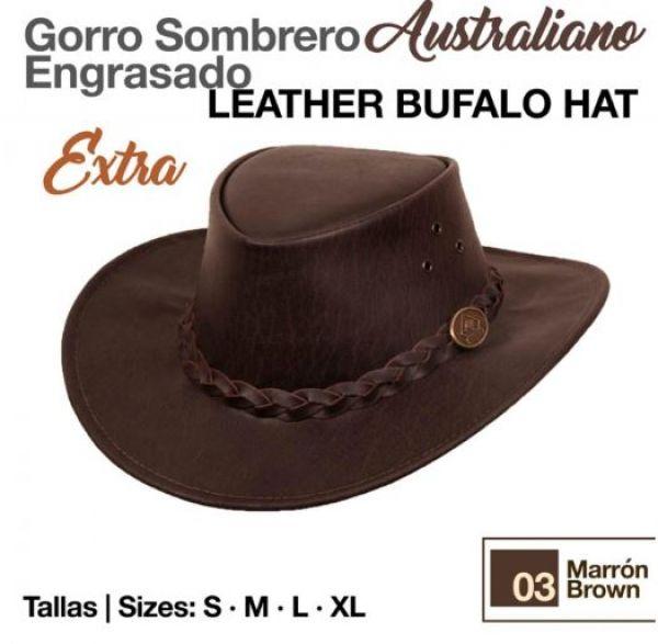f0cd59c761dd9 Sombrero Australiano Engrasado Extra