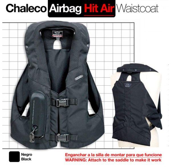 Chaleco Airbag Hit-Air MLV-C Para Moto y Caballo Talla M