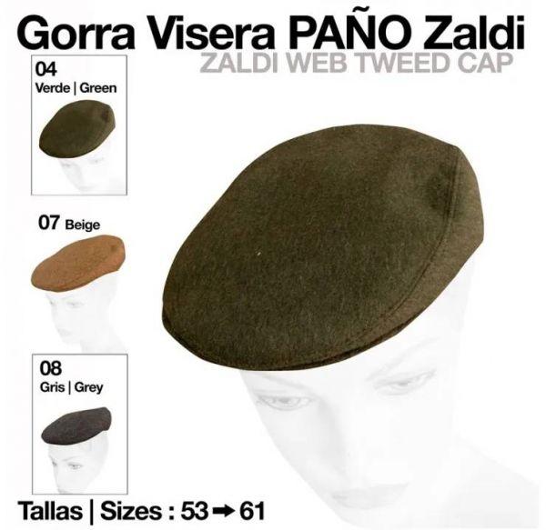 Gorra Inglesa Visera Paño (Zaldi) 26e1dc31871