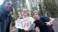 Small hitchhiking from prospect or united states to crater lake klamath county or united states
