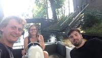 Small hitchhiking from giethoorn holandia to jonen holandia
