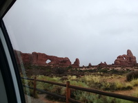 Small hitchhiking from moab ut usa to arches scenic drive moab ut usa