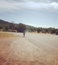 Small hitchhiking from phoenix az usa to monticello ut usa