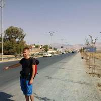Small hitchhiking from sulaymaniyah iraq to shaqlawa iraq