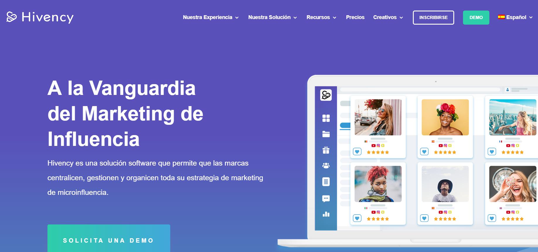 Hivency presenta su nuevo logo y la nueva interfaz de su página web