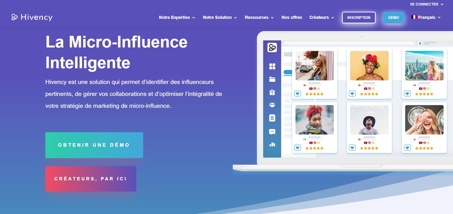 Hivency dévoile son nouveau logo et la nouvelle interface de son site vitrine