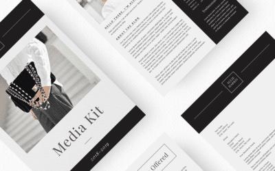 Cómo crear un influencer media kit que llame la atención de las marcas