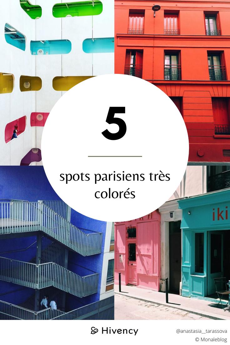 endroits parisiens colorés