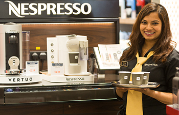 Nespresso Product Demonstration