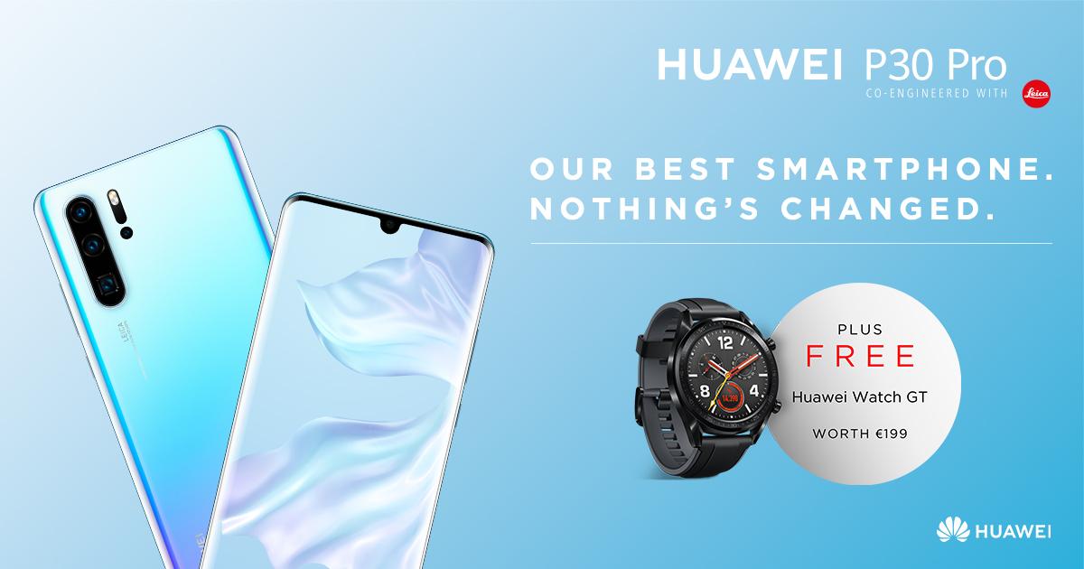 Huawei P30 Banner