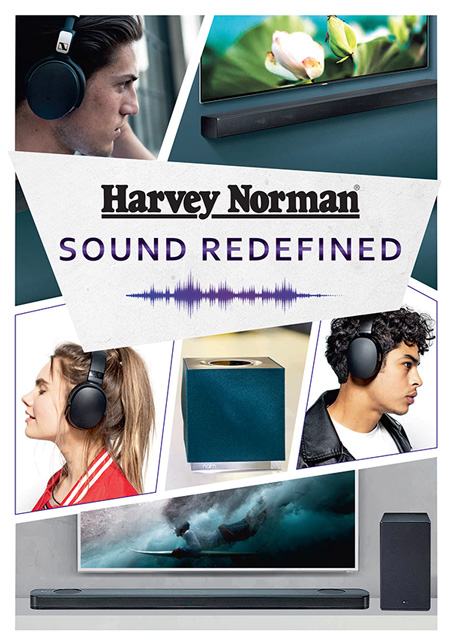 Sound Redefined Catalogue Cover