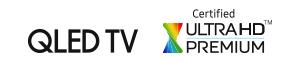 QLED certified logos
