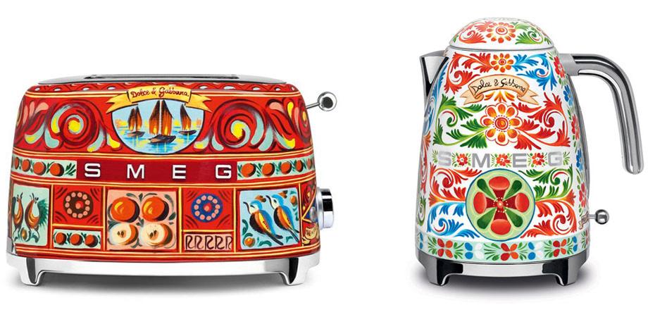 Smeg Dolce & Gabbana Range