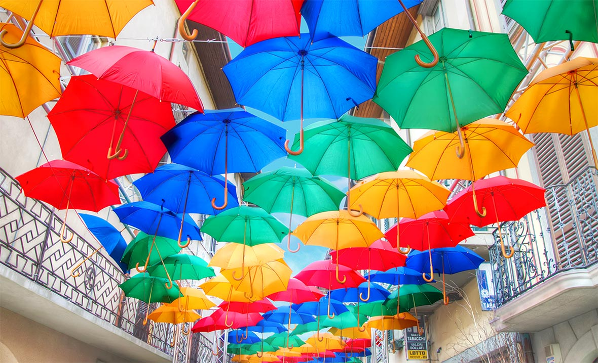 Triluminos Umbrella Image