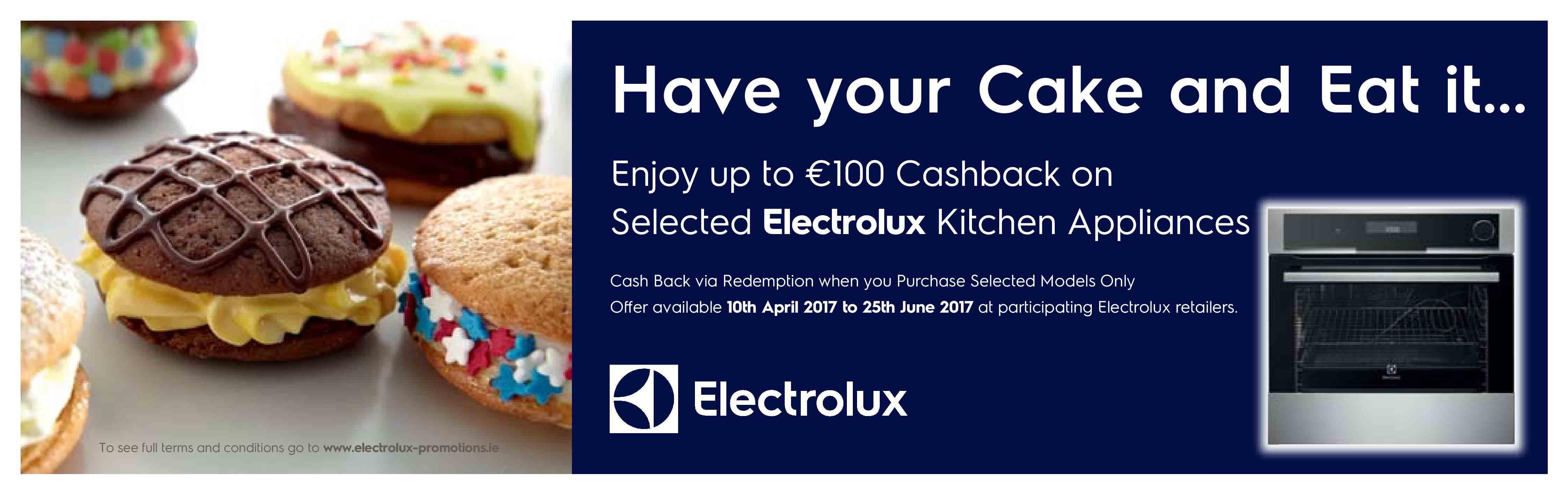 electrolux cashback