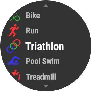 watch face triathlon