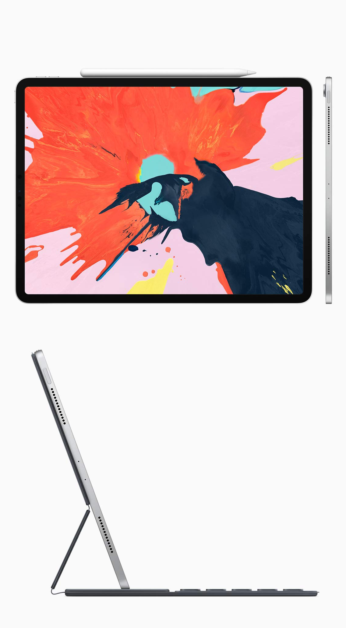 images of ipad pro angles