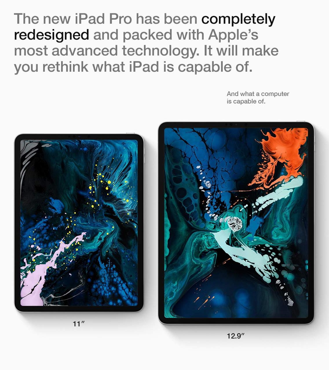 iPad Pro redesigned