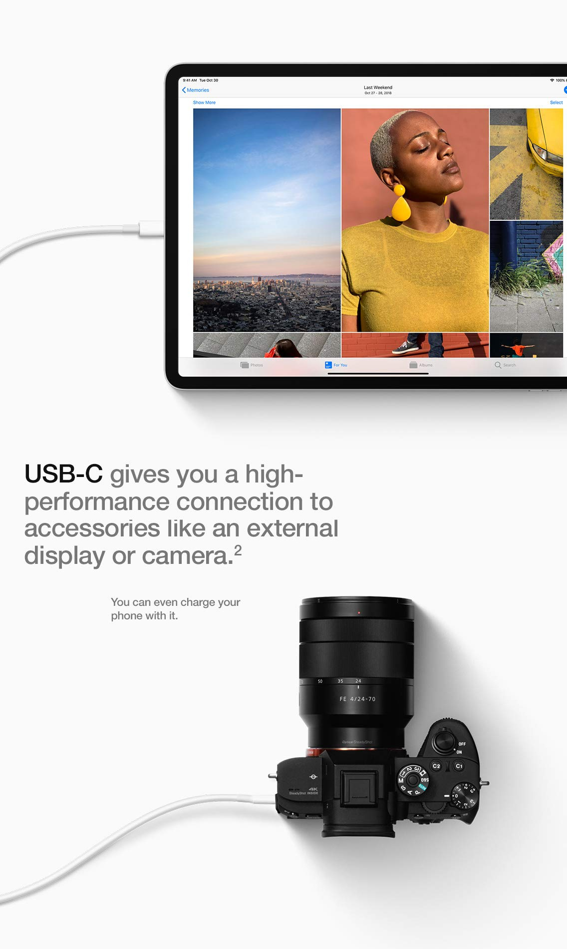 usb-c port allows connection to way range of peripherals